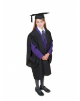 Traditional Primary School Graduation Gown and Cap