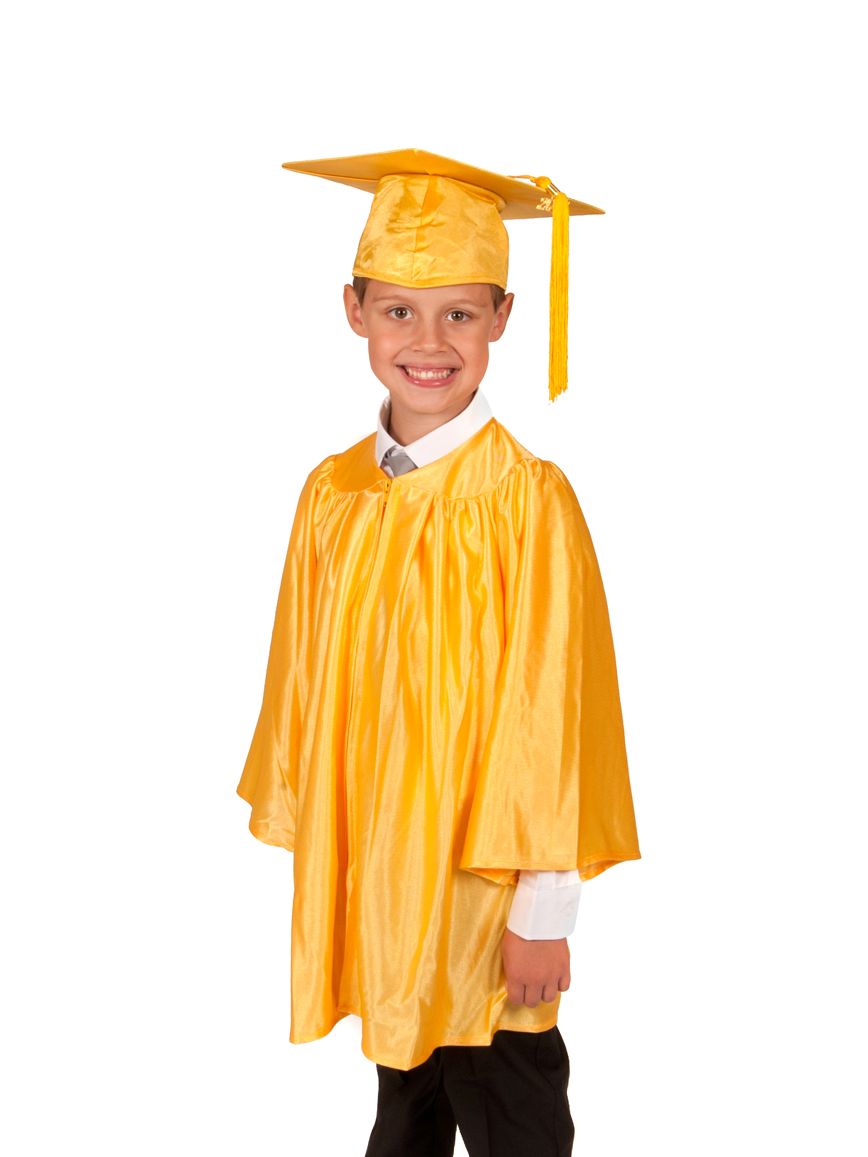 Shiny Primary School Graduation Gown and Cap - Graduation Gowns in ...