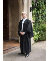 Barristers Gown, Wig and Band Set