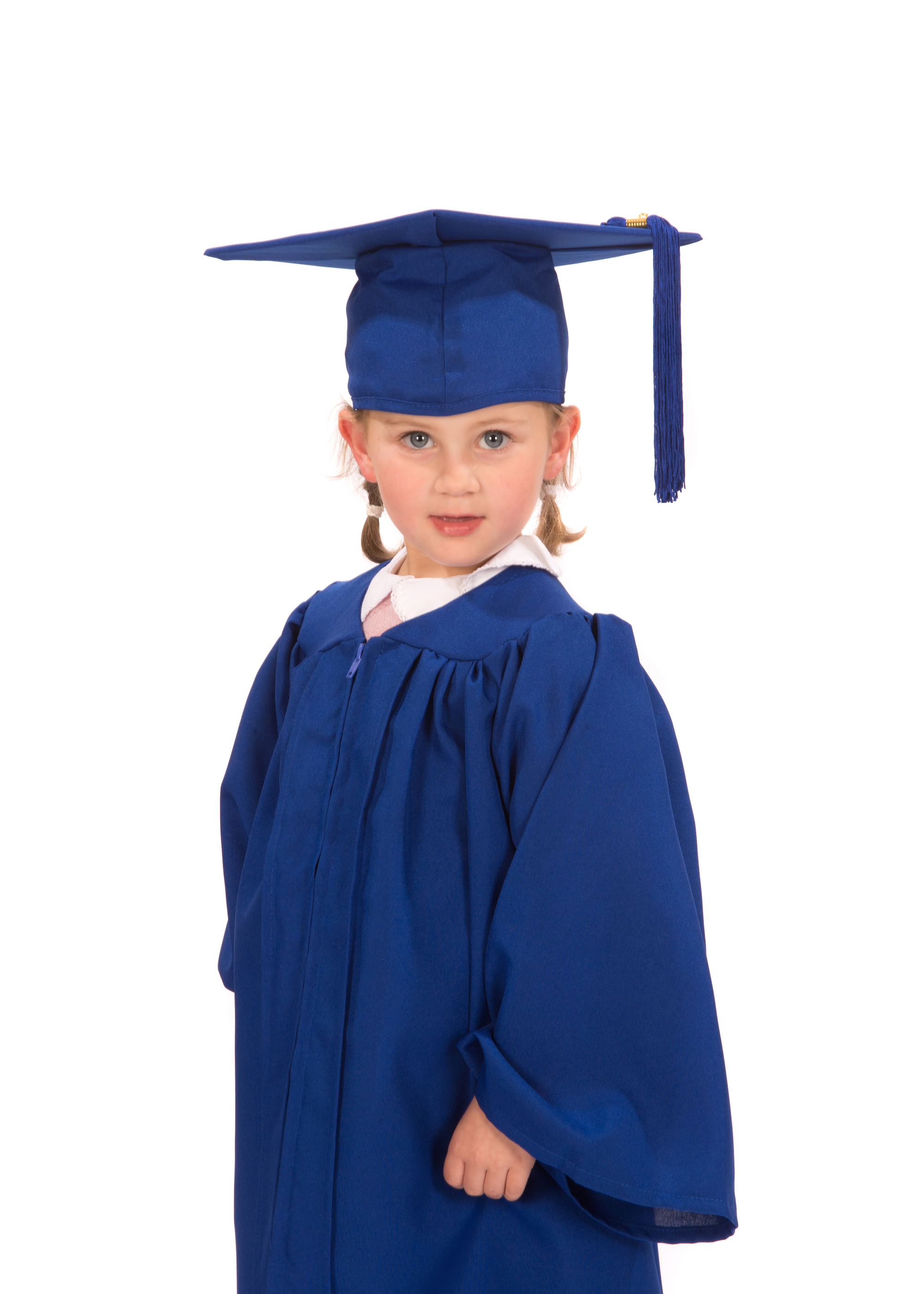 Matte Nursery Graduation Gown and Cap - Graduation Gowns in Europe ...