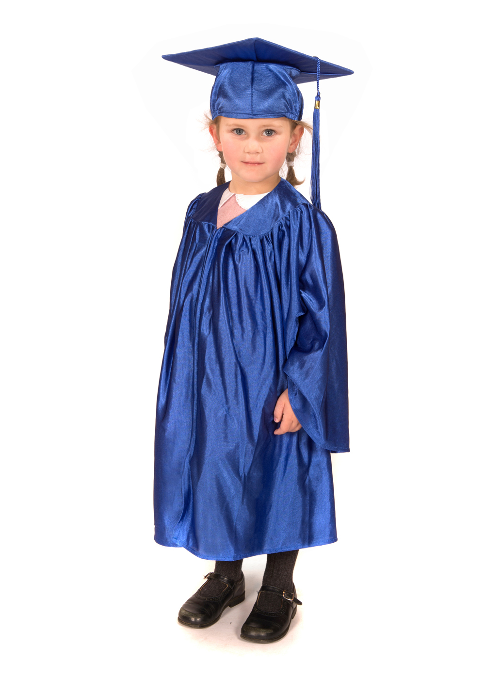 Shiny Nursery Graduation Gown and Cap - Graduation Gowns in Europe ...