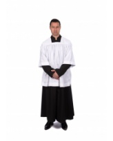 Traditional Choir Cotta - Pleated or Gathered - Adult
