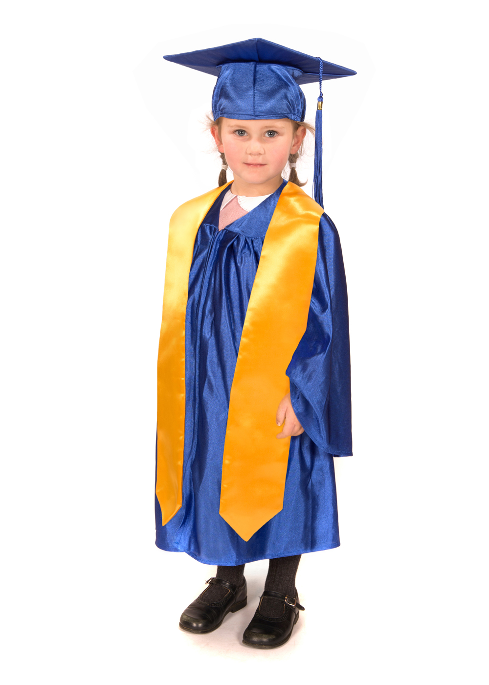 Shiny Nursery Graduation Gown, Cap & Stole - Graduation Gowns in ...