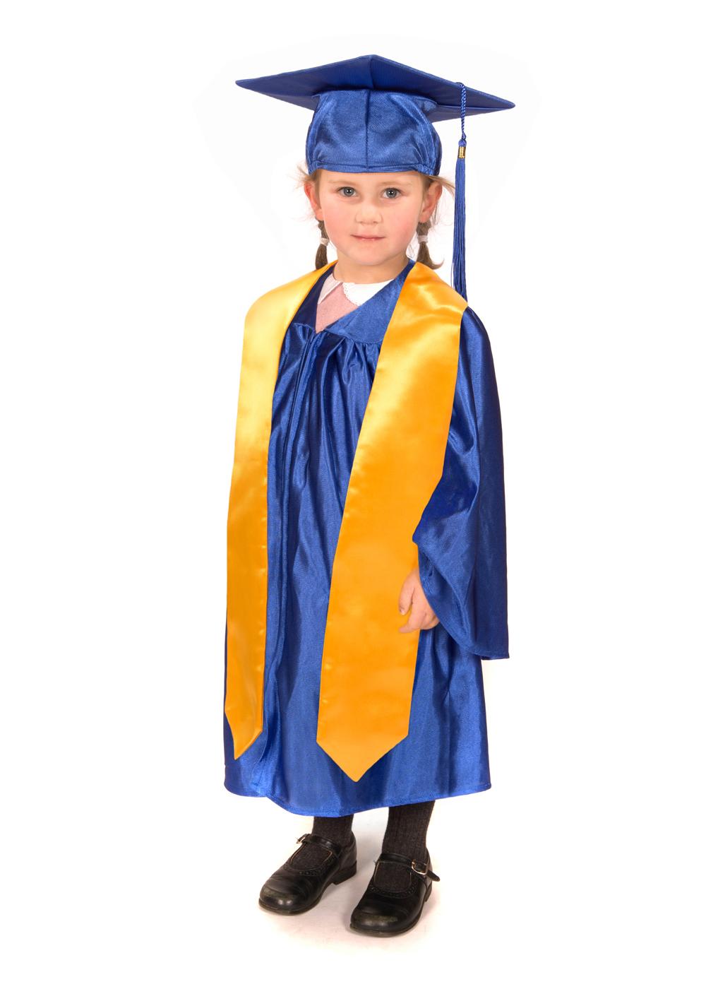 Shiny Nursery Graduation Gown, Cap & Stole - Graduation Gowns in ...
