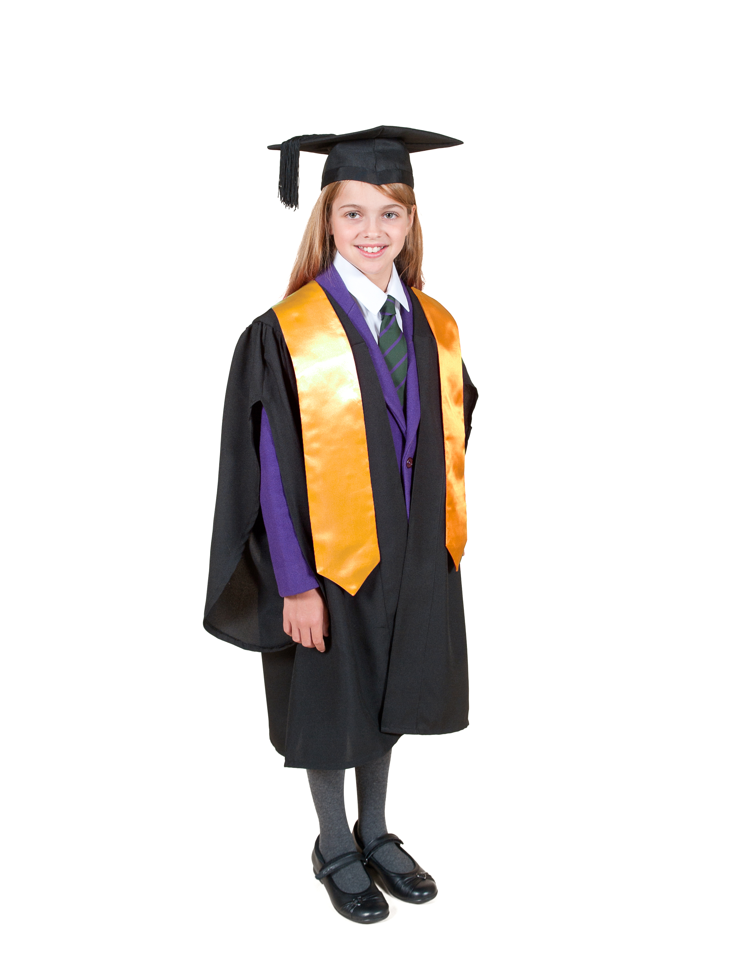 Traditional Primary School Graduation Gown, Cap and Stole ...