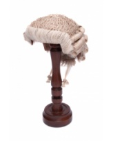 Traditional Barrister's Wig - White/Grey